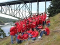 Tour Choir at Deception Pass