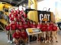 At the Caterpillar Plant