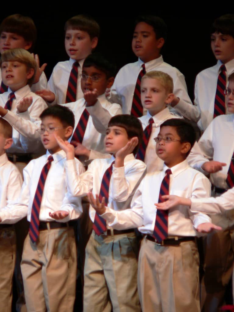 FBBC - 2005 Training Choirboys in Concert